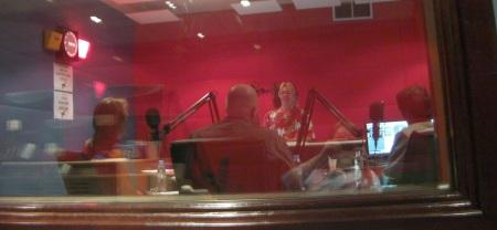 Kristina, Daddybird, Sanjive on Nightline, Dubai Eye radio
