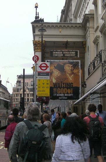 Theatre Royal, Haymarket, Waiting on Godot, July 2009