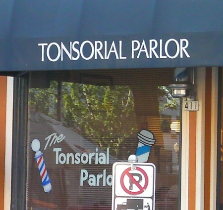 Tonsorial
