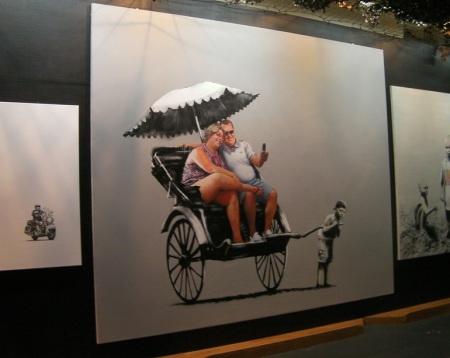 BanksyRickshaw