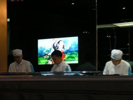Manga Sushi chefs