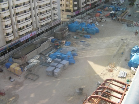 Salahuddin Station construction