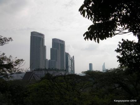 Kuala Lumpur as seen from Planetarium