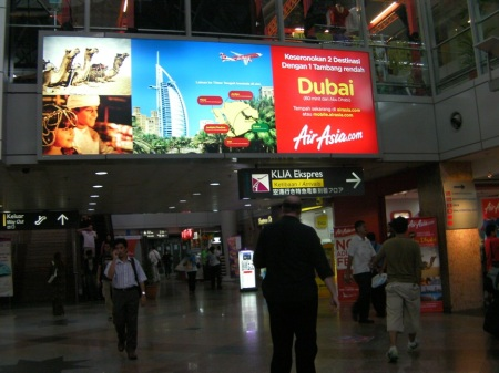 Air Asia advertisement about Dubai