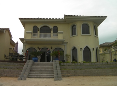villa on the Palm Island