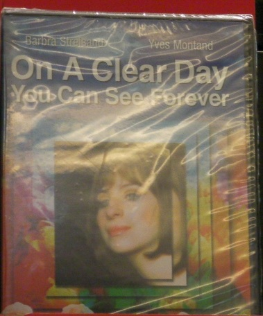 On a Clear Day dvd case