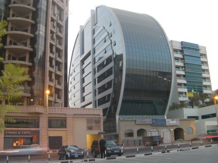 vertically circular building