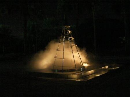 mist fountain