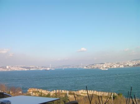 view of the Bosphorus Strait