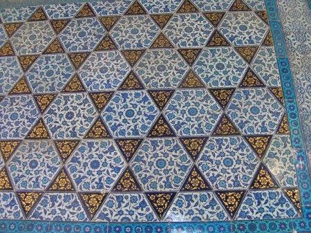 tiles in star pattern