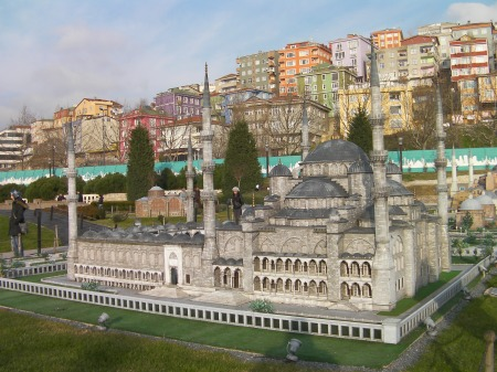 miniature of the Blue Mosque