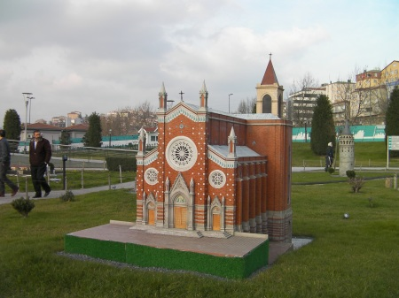 minature of St. Antoines Church