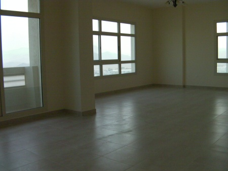 large empty living room