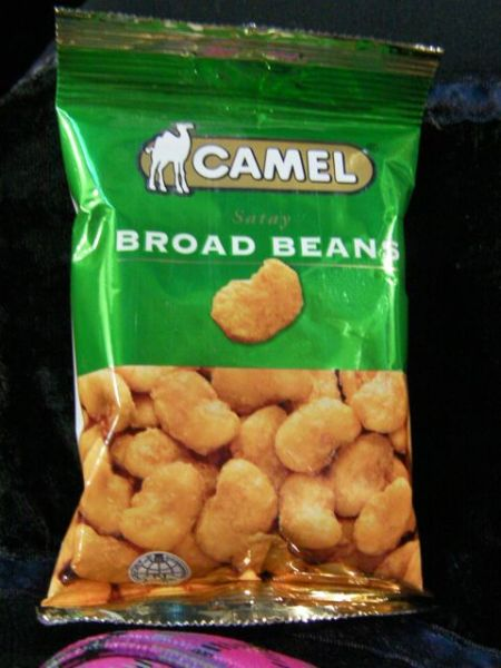 camel brand broad beans snack