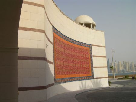 decorative tile wall