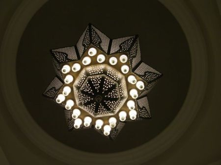 eight pointed star chandelier