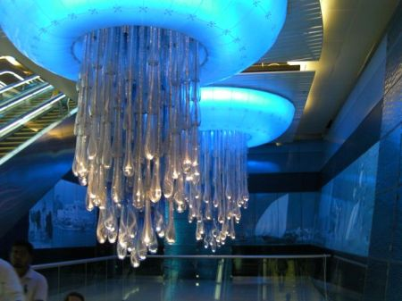light fixtures that look like giant jelly fish