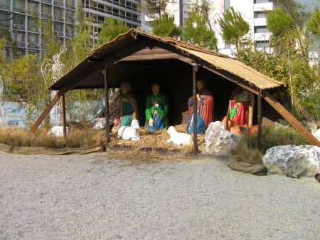life sized nativity scene