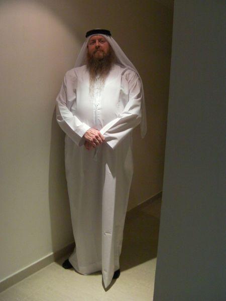 man in white kandora