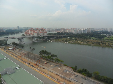 Kallang River as seen from the ferris wheel