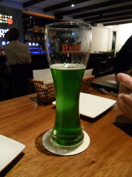 emerald green beer