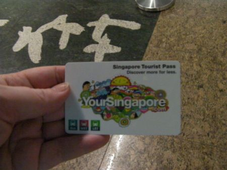 tourist pass ticket
