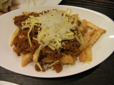 chili, cheese, fries