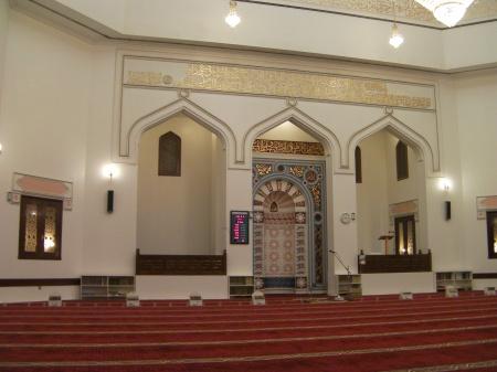 interior of a mosque