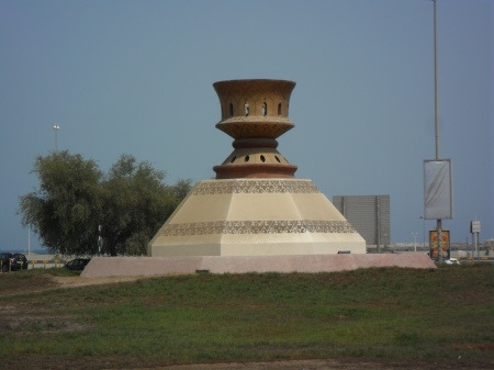 statue of an incense burner