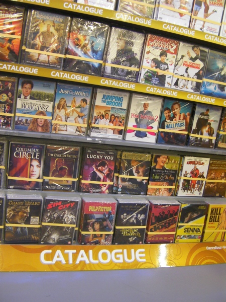 video section labelled catalogue