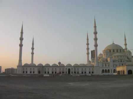 side view of the mosque