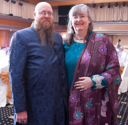 couple in Indian attire