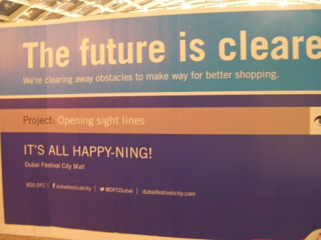 The future is clearer. We're clearing away obstacles to make way for better shopping.