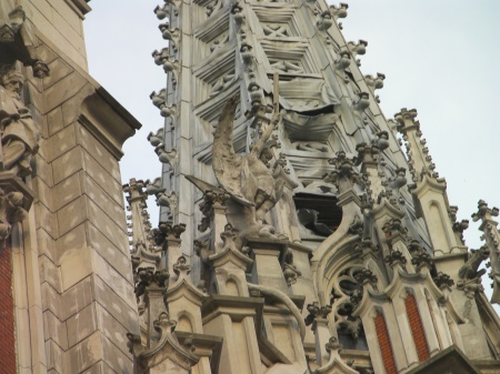 ornate church spires