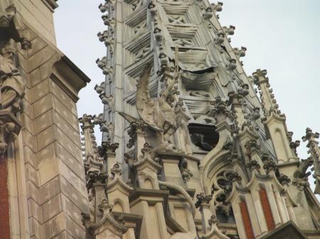 ornate church spires