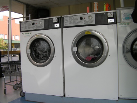 large laundry machines