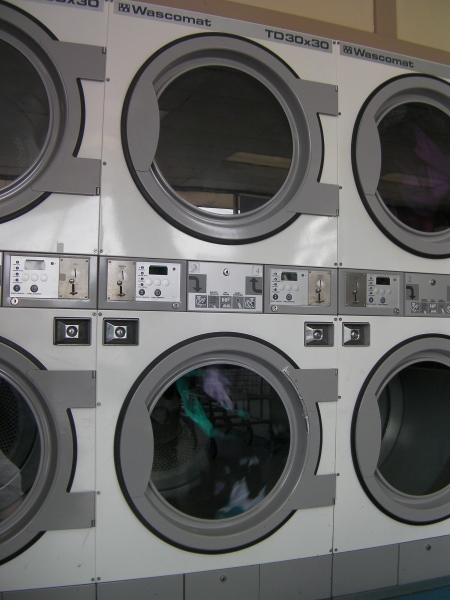 coin operated clothes dryers