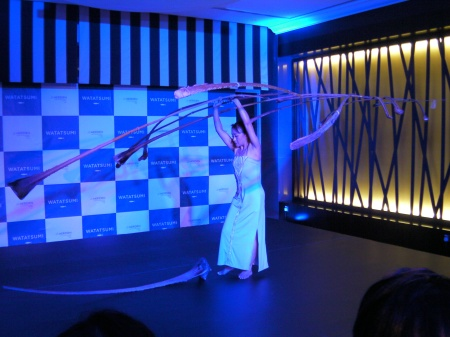 Miyoko Shida Rigolo doing a balance performance