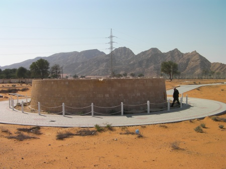 round stone structure