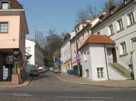 street view in Prague