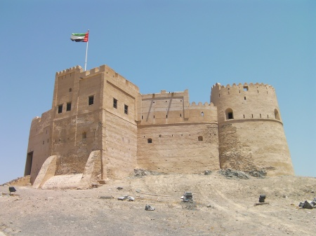 a restored 300 year old fort