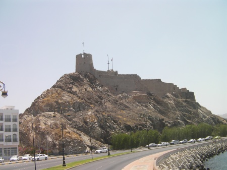 stone fort on top of a hill
