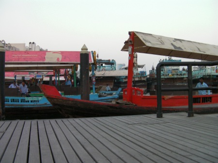 wooden boats used as taxis