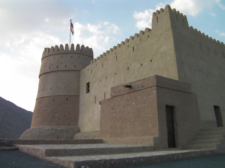 restored old Arab fort