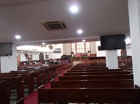 inside of the Grace Church