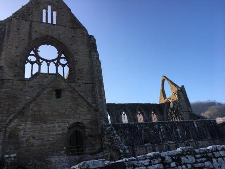 TIntern Abbey medieval stone ruin