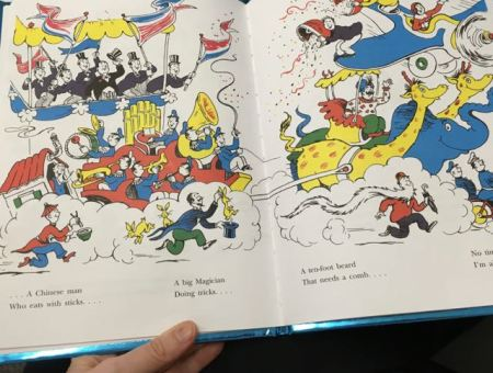 picture of Dr Seuss book