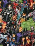 Marvel Avengers print fabric